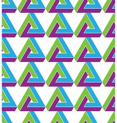 Triangle inspired texture background continuous vector