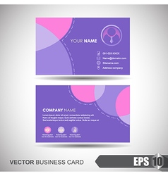 Business card 005 vector