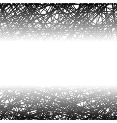 Abstract black line background vector