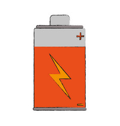 Battery rechargeable symbol vector