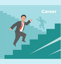 career concept business vector image vector image