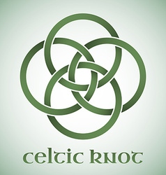 Celtic knot with gradients vector