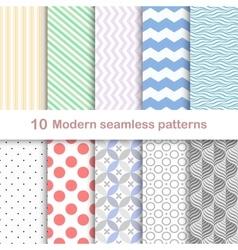 Modern coloful patterns vector