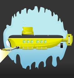 Yellow Submarine vector image vector image