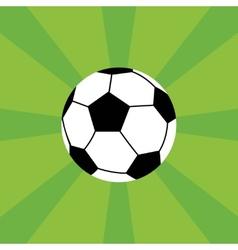 Soccer icon vector image
