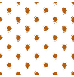 Caramel stain pattern vector
