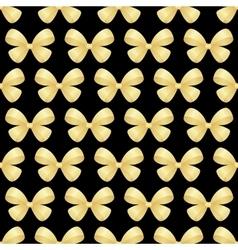 seamless bows ribbon vector image vector image