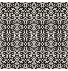 Swirly lace pattern vector image
