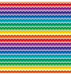 Seamless vivid wave pattern vector