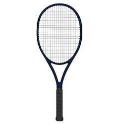 Racket tennis vector image