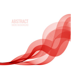 Abstract background imitation smoke vector