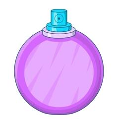 Perfume flacon icon cartoon style vector image