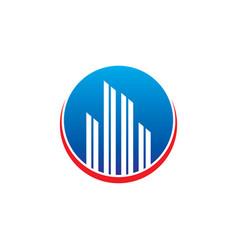 Real estate logo concept vector