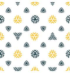 seamless pattern design modern stylish texture vector image vector image