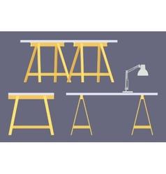 Work table vector