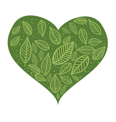 passion for ecology vector image