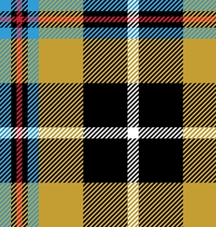 Cornish tartan seamless pattern fabric texture vector