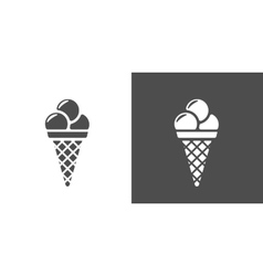 Icecream icon vector image vector image