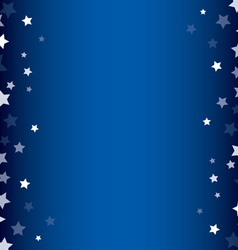 Stars decorative frame vector image
