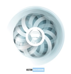 swirl blue and white card vector image vector image