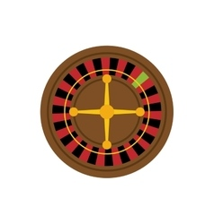 Casino roulette game vector