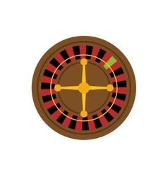 Casino Roulette game vector image