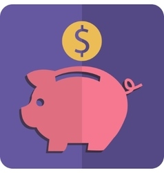Money box vector