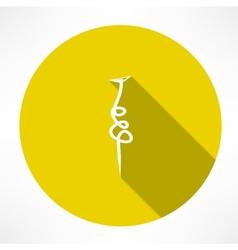 Nail icon vector