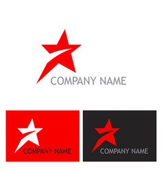 star speed company logo vector image