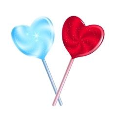 Sweet hearts vector