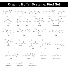 Organic buffer agents vector