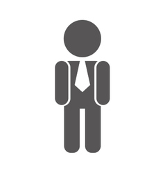 executive man design vector image