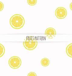 Hand drawn lemons seamless pattern vector