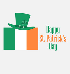 happy st patricks day festive background vector image