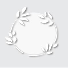 paper-leaf-symbol vector image