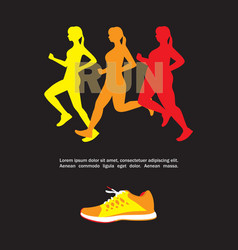 sport and fitness template vector image