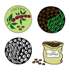 coffee 4 vector image