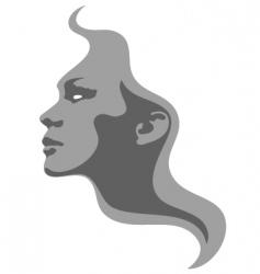 Face fashion design vector