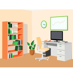 Greenorangeecooffice vector