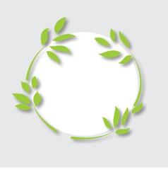 leaf-ecology-concept vector image