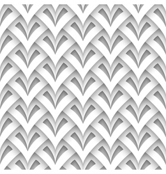 Paper seamless pattern vector image vector image