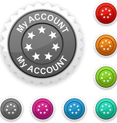 My account award vector