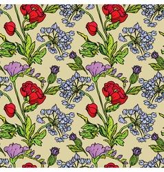 flowers handdrawn 26 380 vector image