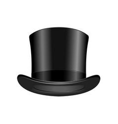 Gentleman fashion hat modern elegance black cap vector