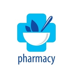 Logo pharmacy vector