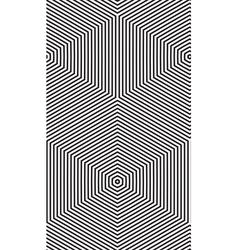 Pattern zigzag vector