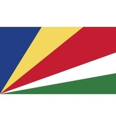 Seychelles flag image vector image vector image