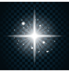 Shine star sparkle icon 20a vector