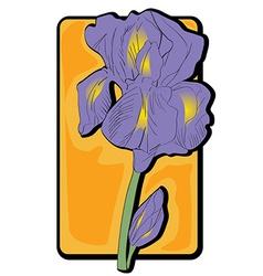 iris clip art vector image