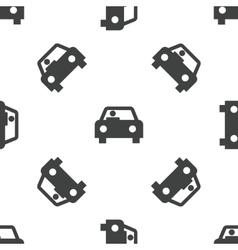 Car pattern vector